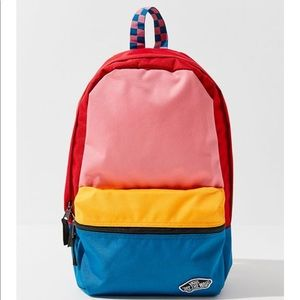 NWT Vans Calico Patchwork Backpack